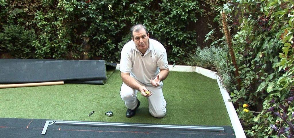 como poner cesped artificial en terraza